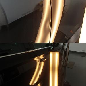 samochód ciemny lakier